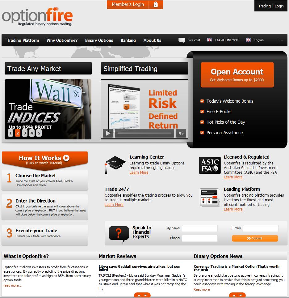 Optionfire