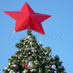 Red Star on top of the education tree