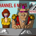 Ninja Turtels Channel 6 News