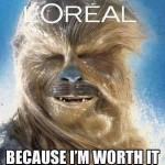 Because im worth it! yay!