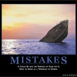 Mistakes, they happen