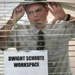 dwight schrute can't find historical charts