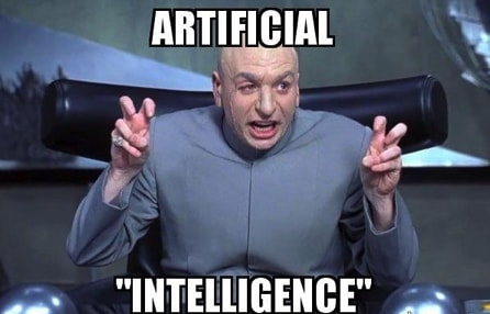"""""""Artificial"""" Intelligence"""
