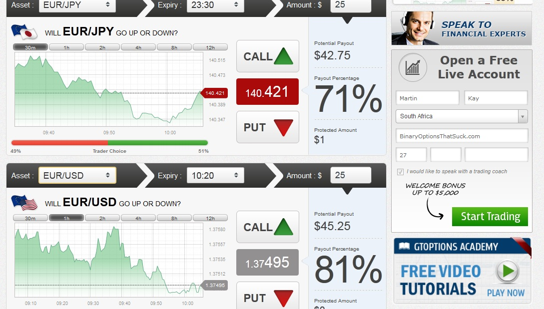 Trader24 binary options