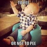 to pee or not to pee?