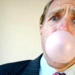 Just bursting a bubble!
