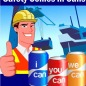 Yes, safety strategy in cans