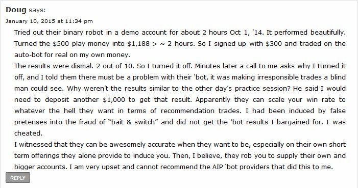 Robots… beep, boop, beep *smoke coming out*… ah, it's my money going up in smoke