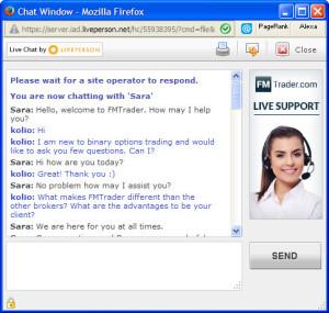 FMTrader FAQ Chat