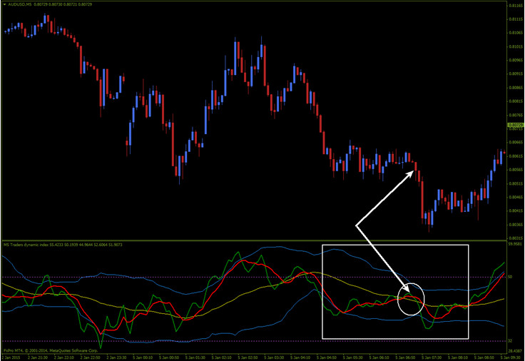 Traders' Dynamic Indicator preview