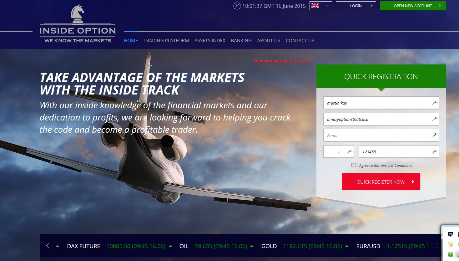 Binary options education and tips