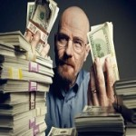 Walter White Counting Money