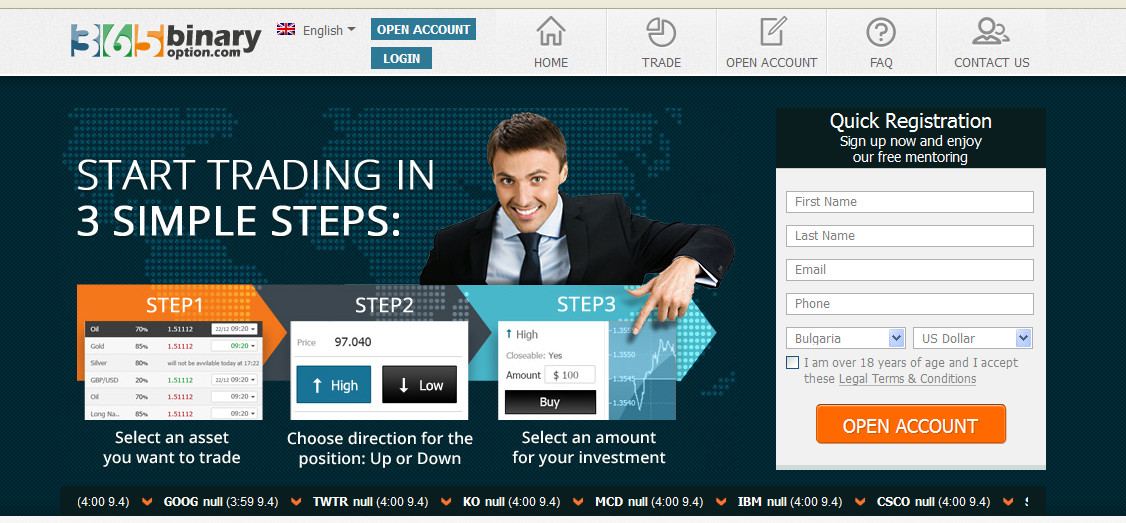 Create a binary options website dubai