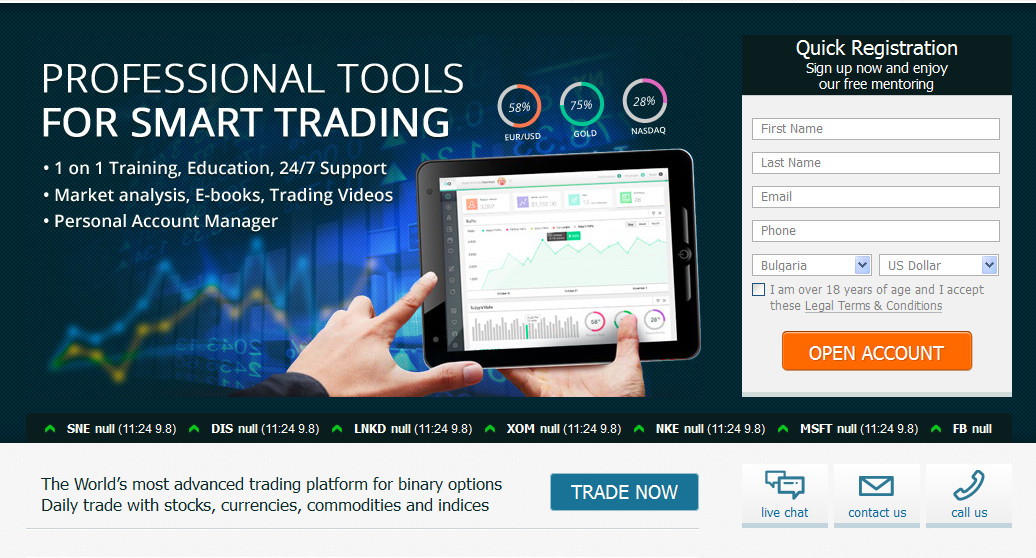 Tag binary options singapore master