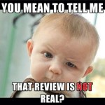 That review, is NOT real!
