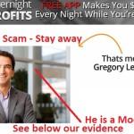 overnight profits scam
