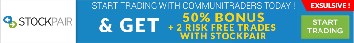 50% Bonus and 2 Risk Free Trades by StockPair!