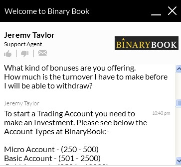 BinaryBook FAQ