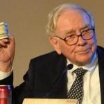 Buffett holds money!