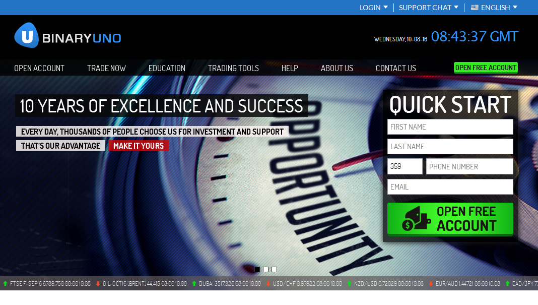 4 options binary trading system free