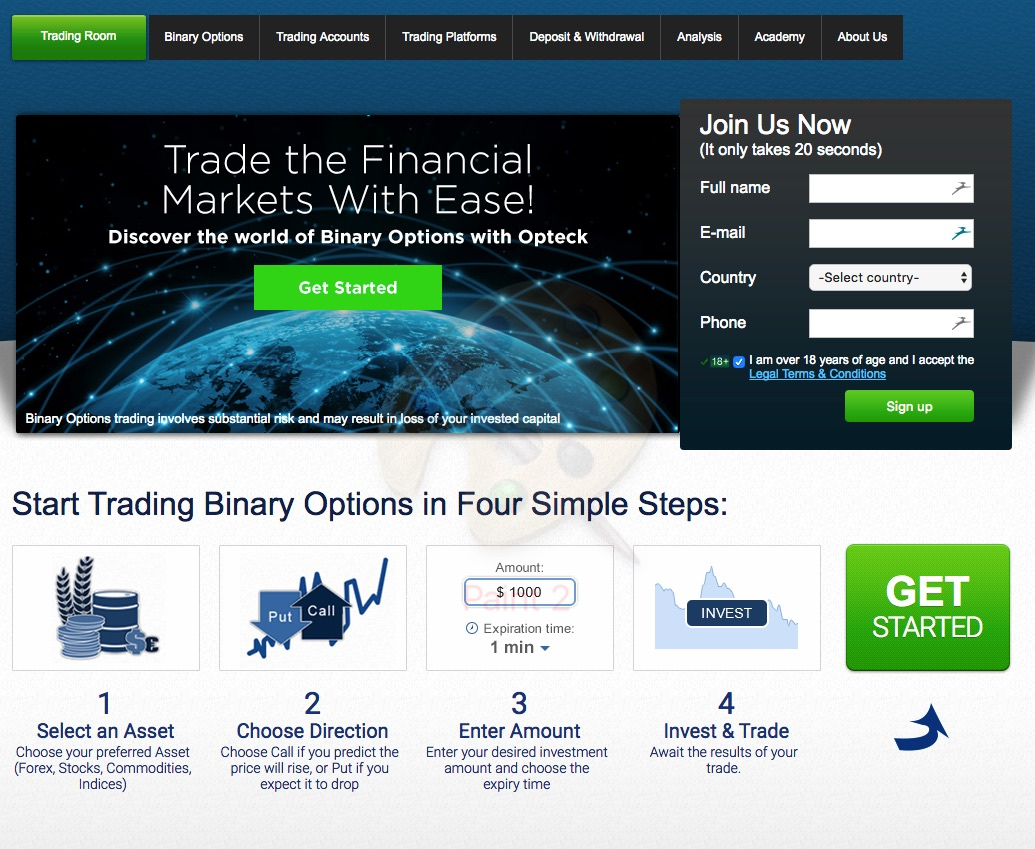 Buy binary options strategy iron riverside