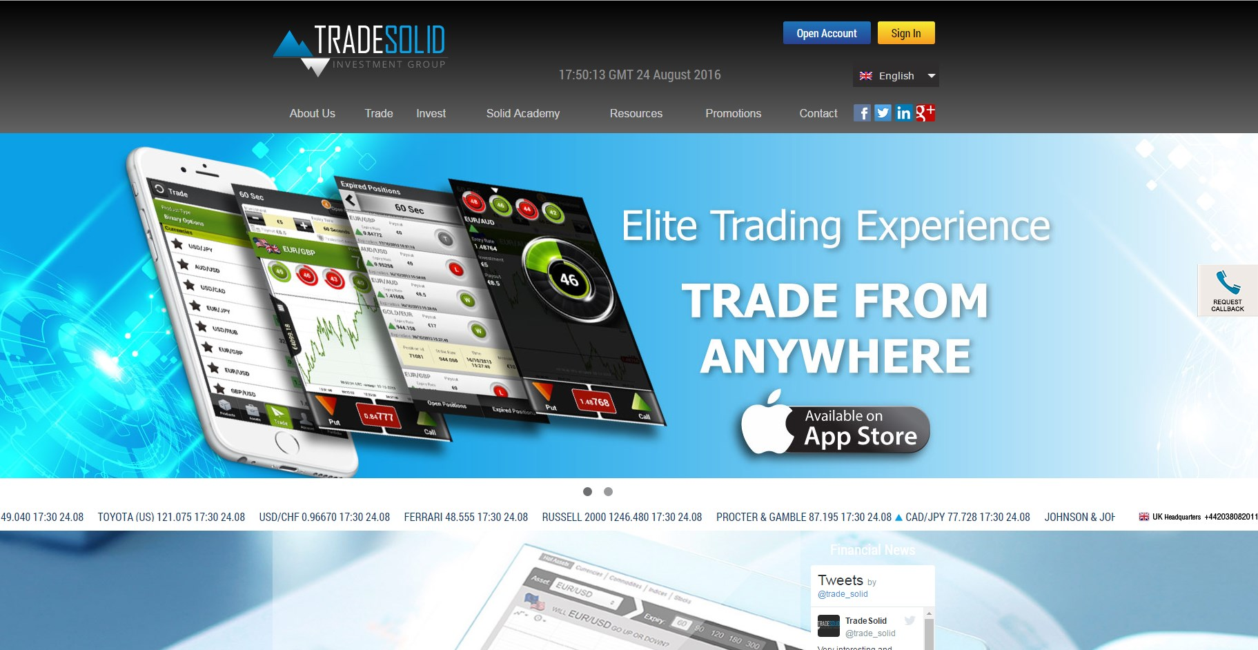 binary options demo option