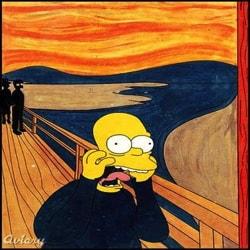 Homer Simpson Arts