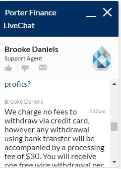 Porter Finance FAQ Complaint