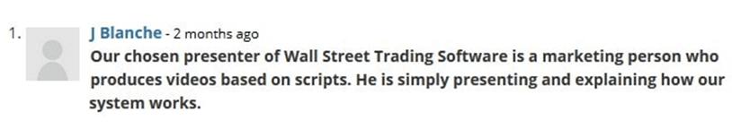 wallstreet trading software chat
