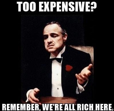HB too expensive-min