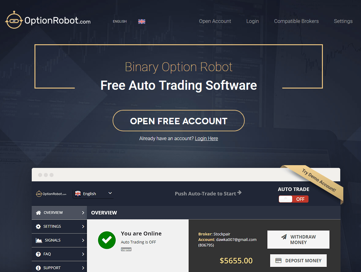 Trading stocks with binary options no minimum deposit 100000