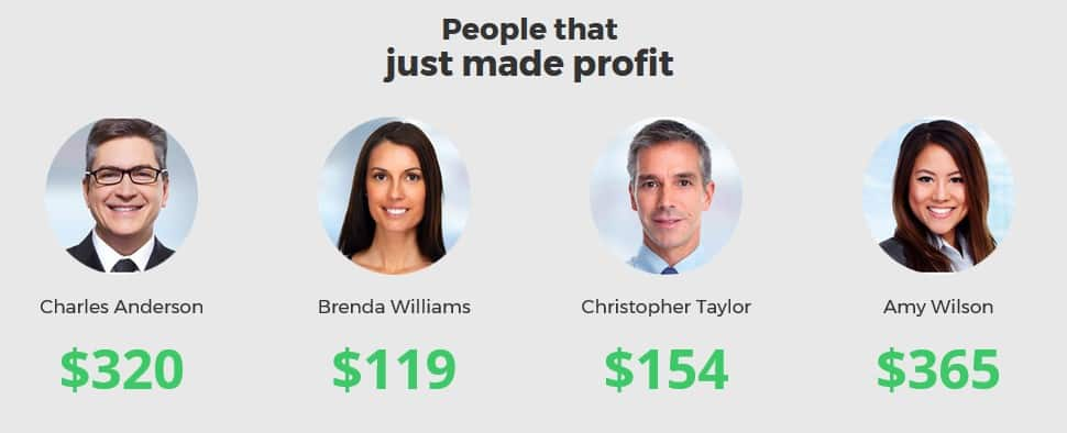 BOM people that profited suck