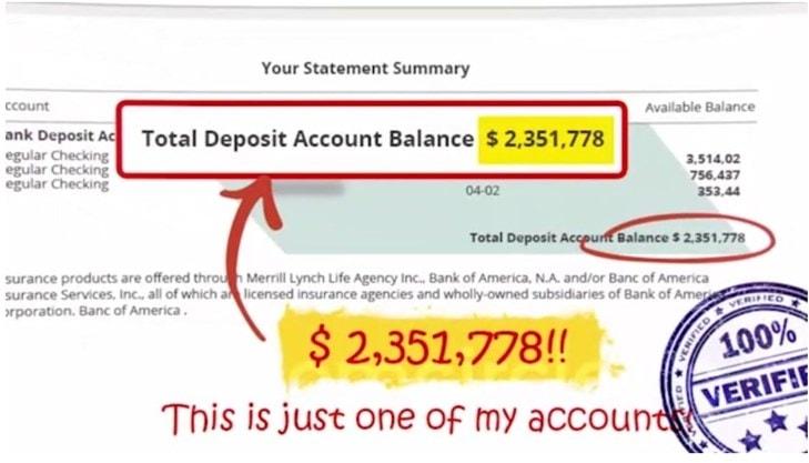 Freedom circle deposit suck