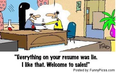 lie resume suck