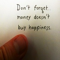 Looking for Happiness in Money?
