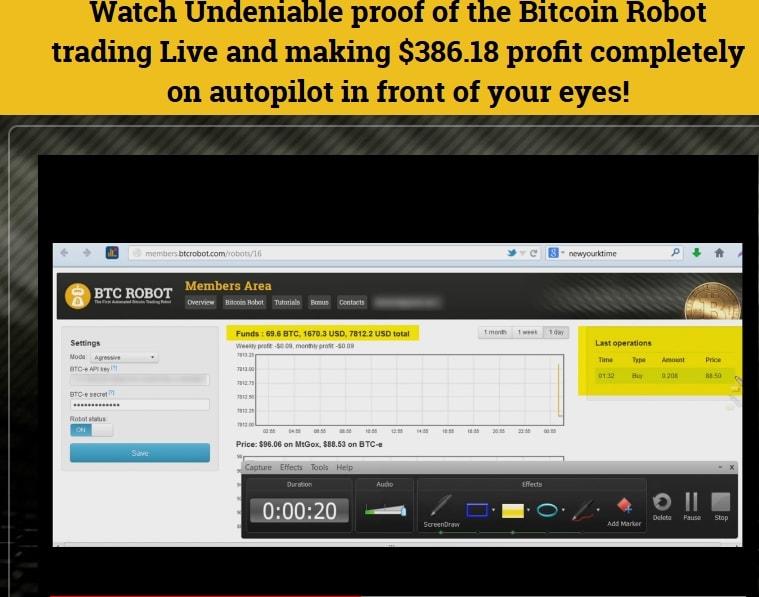 Bitcoin robot 2 scam