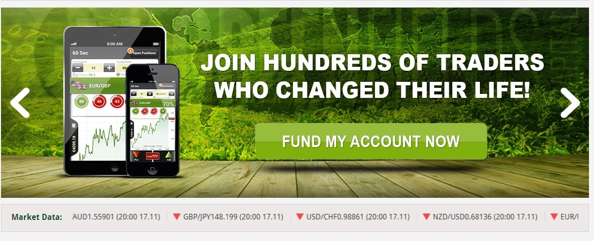 Greenfield binary options
