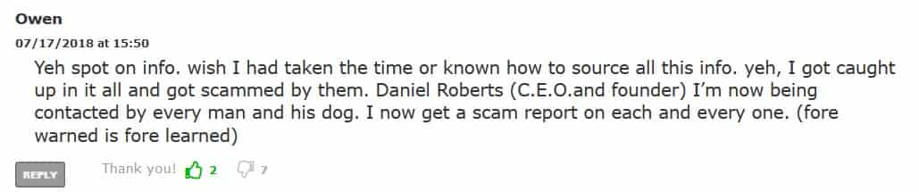Crypto Robot 365 Complaint by Owen