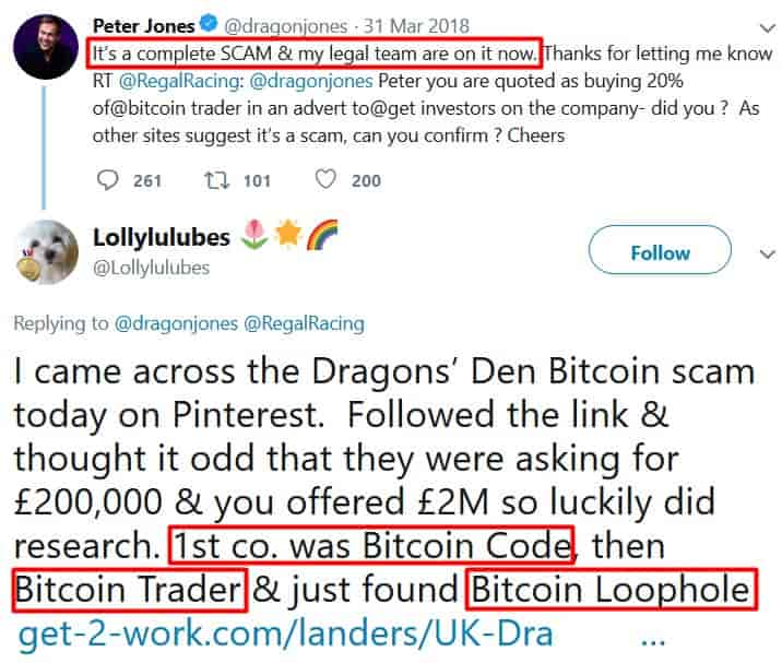 Bitcoin Loophole on twitter