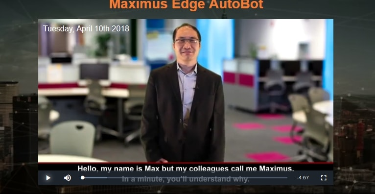 Maximus Edge Autobot uses same actors and story lines