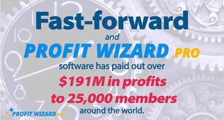 profit wizard pro says they gave 191 M profits all around the globe