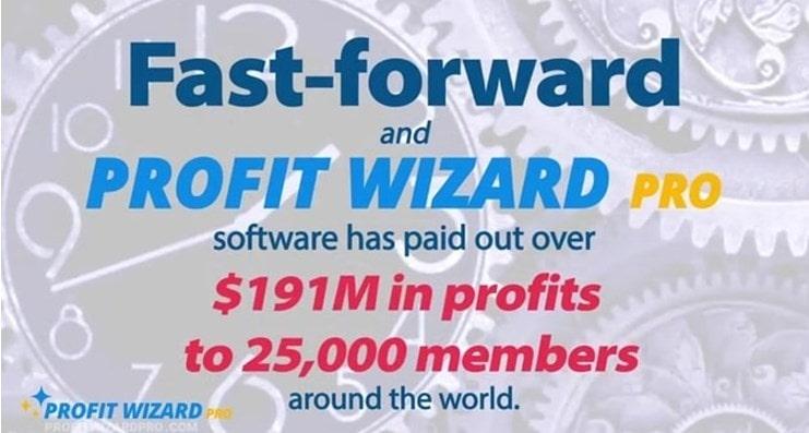 profit wizard pro says they gave 191 M profits all around the globe