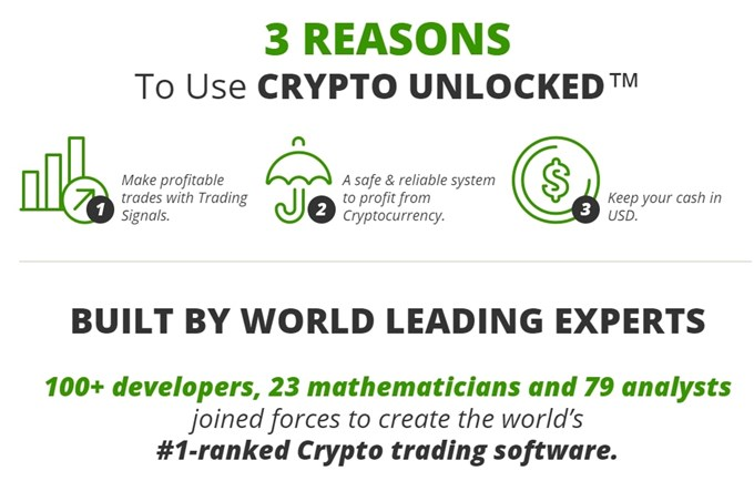 crypto unlocked ranked number 1