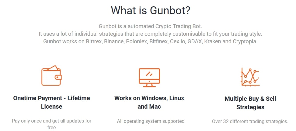 gunbot automated crypto trading bot
