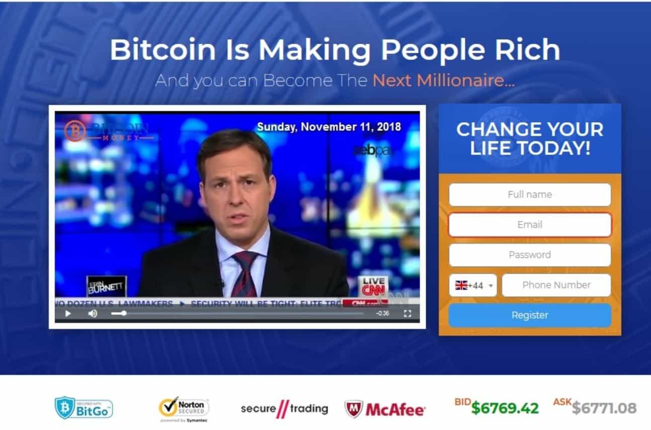 Bitcoin Money scam