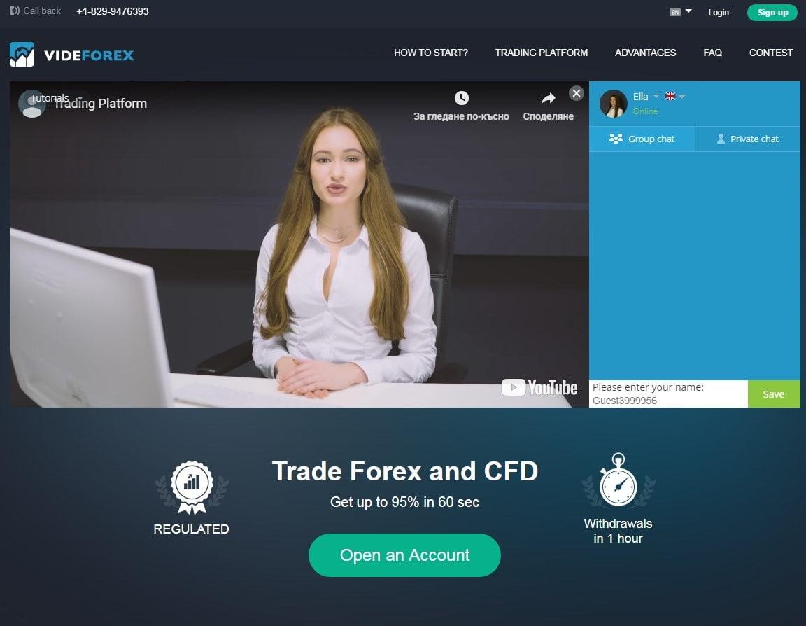 Videforex Overview
